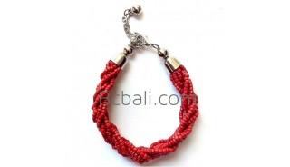 bali beads braided bracelets jewelry designs