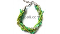 bali stone beaded bracelets charms designs bali