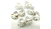 tiger shells organic rings ethnic