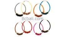 choker necklace string round shells accessory bead