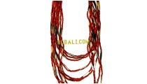 casandra beads multi seeds necklace charmings