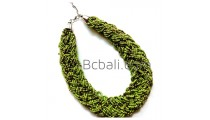 full beads handmade necklace wrap chokers bali design