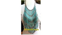 multiple strand necklaces choker chandelier fashion