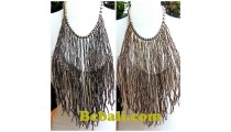 chandelier fashion necklaces choker multi strand glass bead
