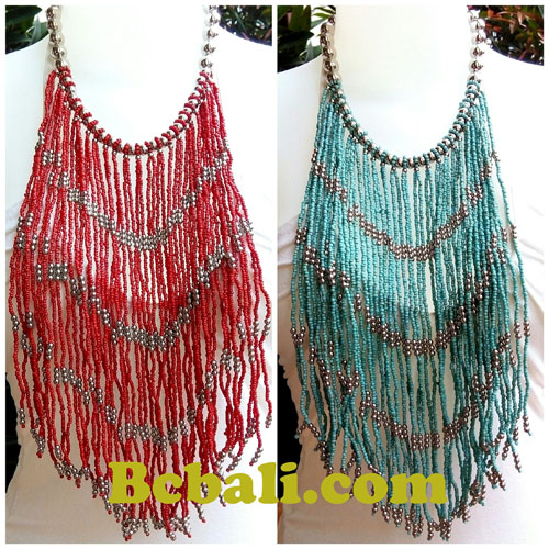 Multiple layer chandelier glass bead choker necklaces rumbai fashion multiple layer chandelier glass bead choker necklaces rumbai fashion aloadofball Images