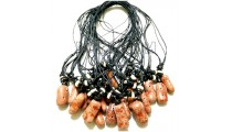 necklaces pendant red coral stone