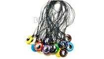 pendant necklace resin chinese motif yingyang