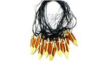 men's necklace pendant surf board painted bali