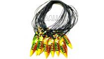 necklaces for men's pendant surf board rasta
