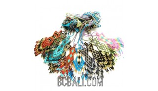balinese miyuki beads pendant crystal handmade necklaces