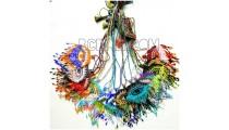 mix color designs necklaces pendant evil eyes crystal