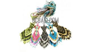 new 5 color miyuki crystal pendant necklaces string long