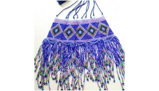 fashion jewelry bead miyuki necklace sequare design