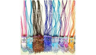 mix color necklace beads miyuki pendant