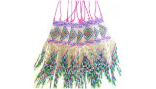 pendant necklace beads crystal miyuki long