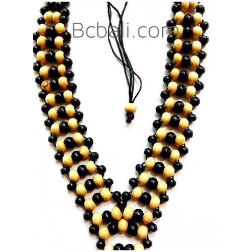 Wooden beads handmade necklace made by wood wooden beads handmade wooden beads handmade necklace made by wood mozeypictures Image collections