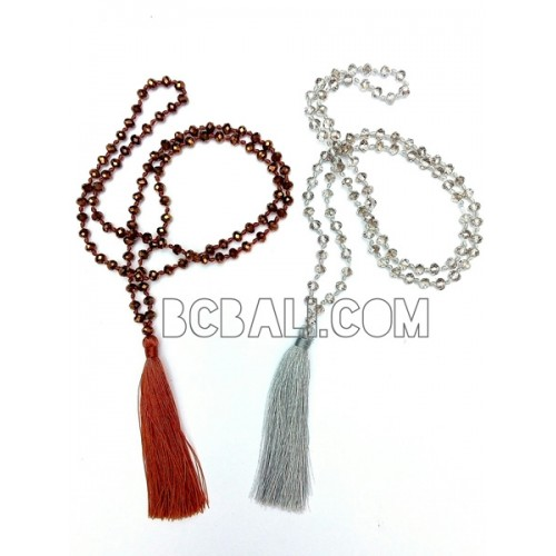 Tassel necklaces beading crystal pendant bali tassel necklaces tassel necklaces beading crystal pendant bali mozeypictures Gallery