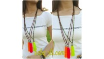 crystal beads tassels pendant necklaces new