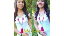 fashion necklaces tassels mala bead handmade designs