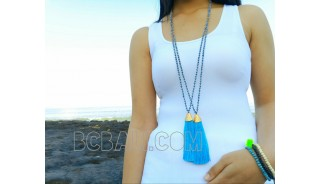 necklaces tassels beauty design crystal chrome