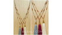 exclusive cup golden bronze bead necklaces crystal