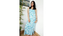 bali fashion batik rayon printing long dress pattern fabric