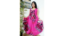 bali fashion clothes women dress wide long patterned ethnic design