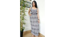bali fashion clothing dress fabric printing rayon elephant