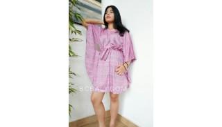 bali fashion clothing jumpsuit rayon printing kimono short