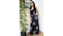 bali women jumpsuit clothes fashion design pattern black color