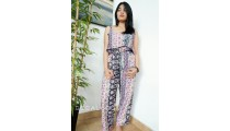fashion clothing jumpsuit elegant design cotton printing