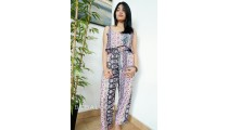 fashion clothing jumpsuit elegant design cotton printing
