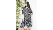 ladies fashion clothing balinese designer long dress butterfly