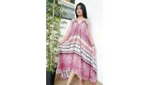 long dress bali batik hand printing handmade clothing