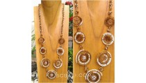 necklaces beads 7mate combination multi color spiral new design
