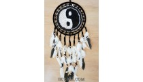 yin yang style crochet dream catcher indonesian handmade