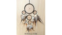 ethnic handmade dream catcher balinese design 5circle