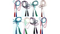 50 pieces mix color free shipping include of tassels beads necklaces long