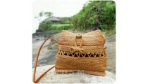 classic style rattan sling bags unique fashion design handmade