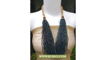 Necklaces Beading Fashion with Wooden