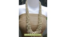 Bali Bead Corn Necklace