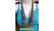 Wrap Beading Corn Necklace Fashion
