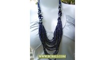 Paua Layered Necklace Beaded