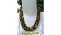 Seed Beads mix Color Fashion Necklaces Chockers