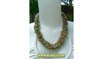 Seed Beading mix Colors Necklaces Fashion