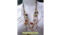 Bcbali Ethnic Fashion Necklace Beaded