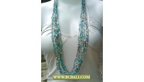 Layered Necklace Fashion Beaded