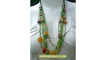 Fashion Necklace Layered Beaded