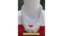 Chockers Beads White Corn Necklace