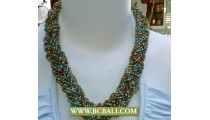 Seed Beading Necklace Fashion mix Colors